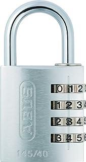 ABUS Cijferslot 145/40 zilver - kofferslot, kluisje en nog veel meer - aluminium hangslot - individueel instelbare cijferc...