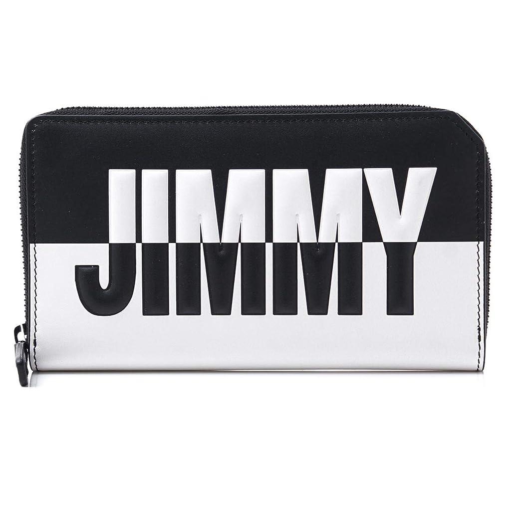 万歳一貫した夫婦(ジミーチュウ) JIMMY CHOO ラウンドファスナー 長財布 小銭入れ付き CARNABY カーナビ― [並行輸入品]
