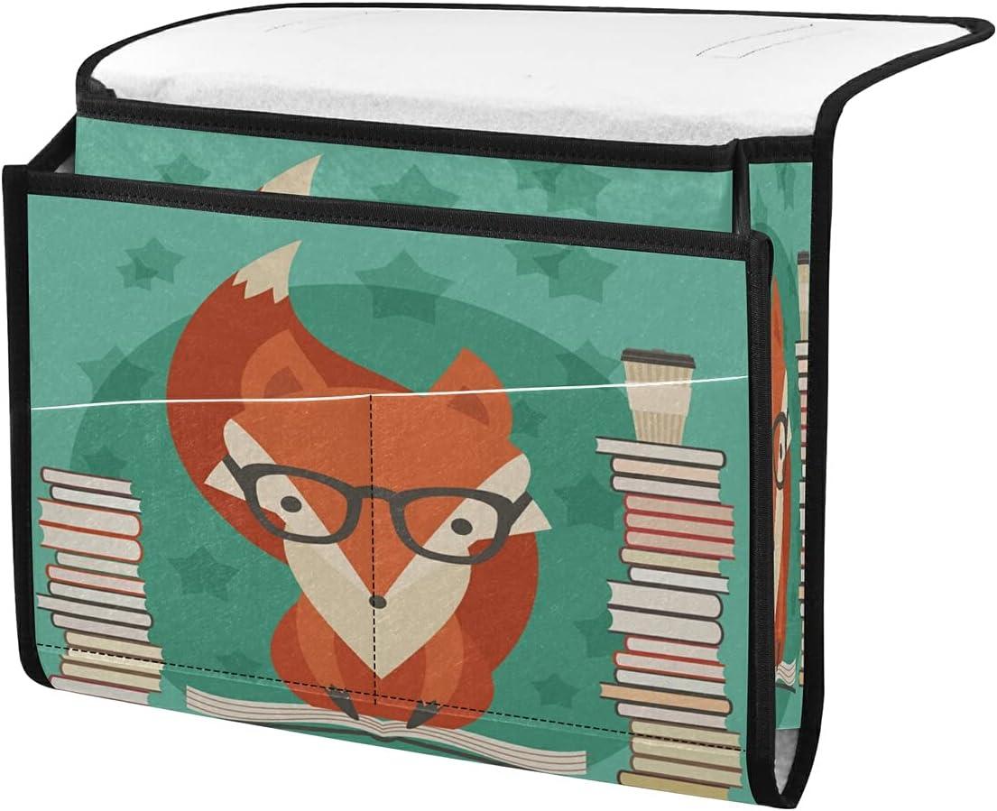 Ranking TOP10 TropicalLife ECHOLI Bedside Storage Caddy Import Organizer St Fox Funny