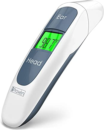 Digital Ear Thermometer For Kids - Baby Thermometer Forehead and Ear - Temporal Digital Thermometer For