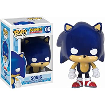 Amazon Com Funko Pop Sonic The Hedgehog Vinyl Figure Toys Games