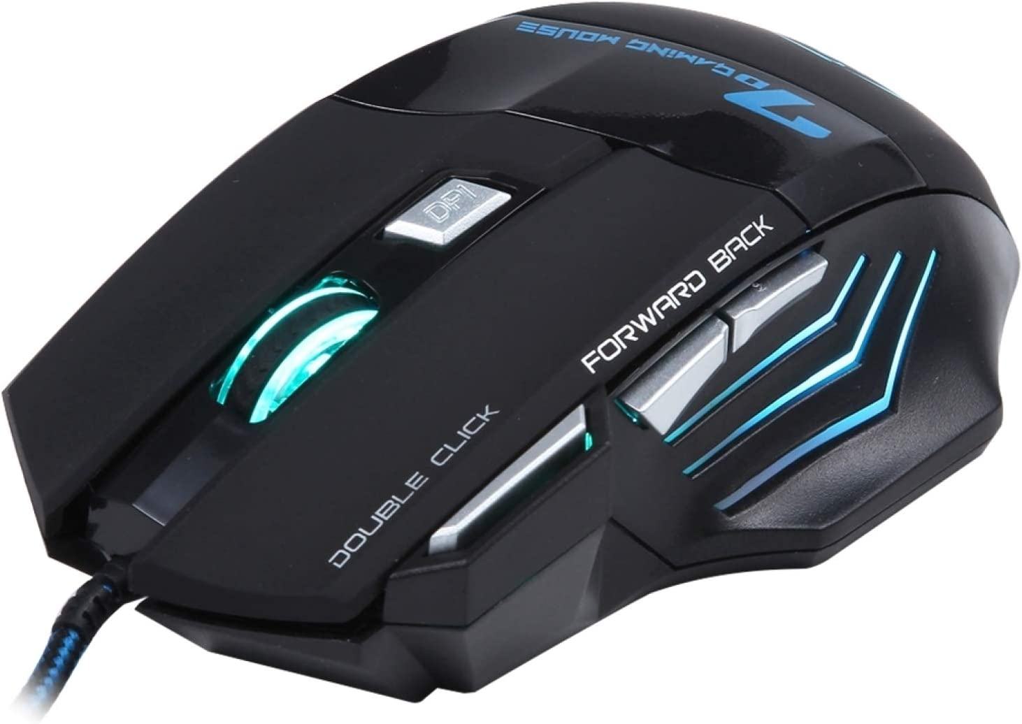 Jingxunsm 5000 DPI LED Wired Gaming Mouse PC Department store Computer Product for Notebo