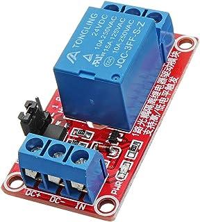 ILS – 3 Unidades 24 V 1 Canal Trigger Level módulo acoplador óptico relé para Arduino