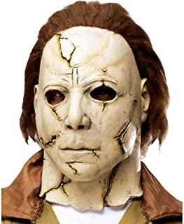 Rob Zombie's Halloween: Michael Myers Adult Mask, Beige / Red, One Size