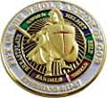 """Put On The Whole Armor Of God 1"""" Lapel Pin"""