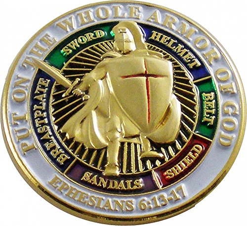 Put On The Whole Armor Of God 1' Lapel Pin