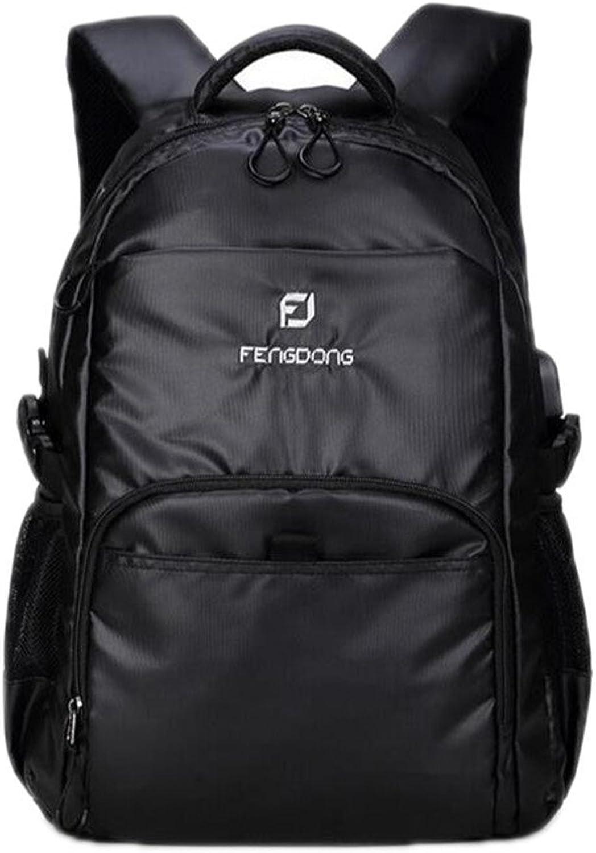 Kinder Orthopdische Rucksack Tasche Schwarz Wasserdicht Laptop Rucksack