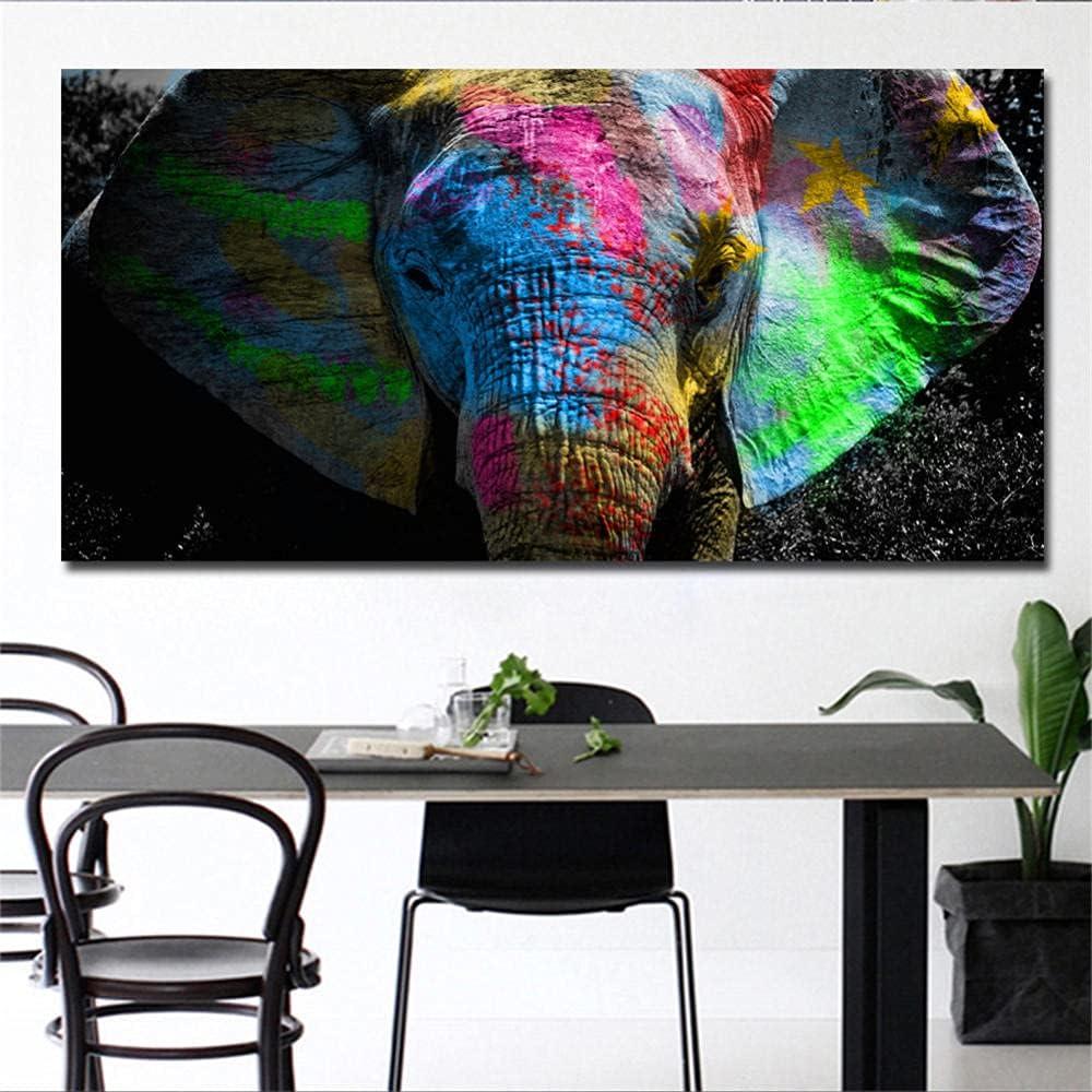 Max 58% OFF Diamond Painting Colorful Elephant P Art Head 5d Trust