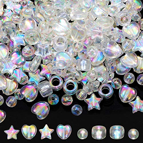400 Pieces 10 mm Acrylic Beads Char…