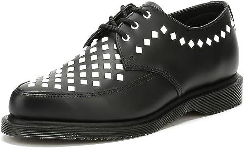 Dr. Martens negro Rousden Willis Creeper zapatos-UK 9