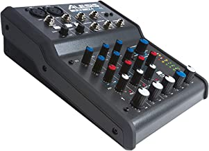 Alesis 16/MULTIMIX4USBFX MultiMix 4 USBFX 4-Channel Mixer with Effects and USB Audio Interface