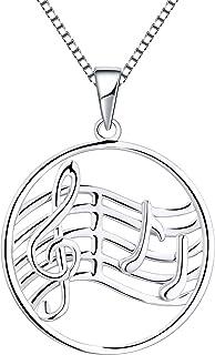 4e895434703e Amazon.es: plata colgantes clave de sol: Joyería