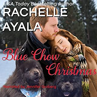 Blue Chow Christmas: The Hart Family audiobook cover art