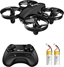 Mini Drone, Potensic A20 Altitude Hold Quadcopter Drone 2.4G 6 Axis Headless Mode Remote Control Nano Quadcopter for Beginners - Black …