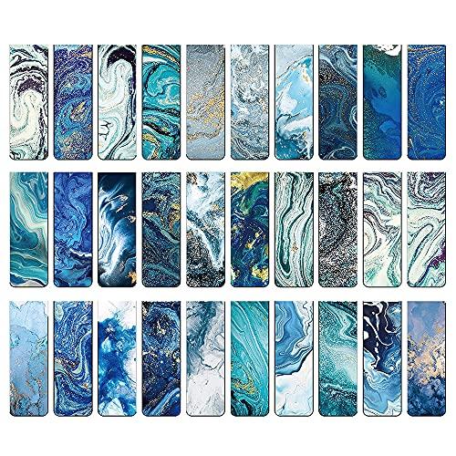 MOPOIN 30 pezzi Segnalibro Magnetico, Segnalibri Magnetici Segnalibri Magnetici Durevoli, Segnalibro con Motivi Oceanici per Donne Uomini Bambini Ragazzi Ragazze