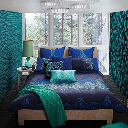 Kas Australia Pushkar Twin Duvet Cover Royal Blue