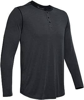 Men's armor threadborne knit fitted henley