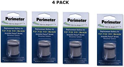 Perimeter Technologies Invisible Fence Collar Battery - Brand Compatible - Bonus eOutletDeals Pet Towel