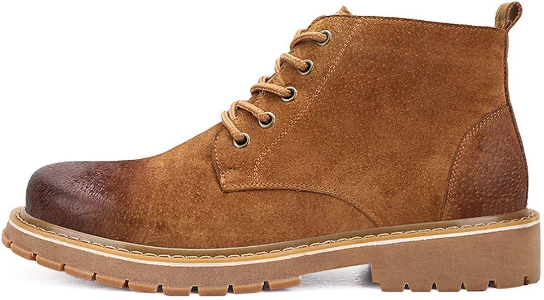 SEEKER Schuhe aus echtem Leder, klassisches Design, für Herren, New New Winter Stil, Braun - braun - Größe  43 EU  am billigsten