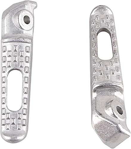 new arrival Mallofusa Aluminum Motorcycle Rear Foot Pegs Footrests Compatible for Honda new arrival CBR600RR 2003 2004 2005 2006 2007 2008 2009 2010 sale 2011 2012 2013 2014 Silver online
