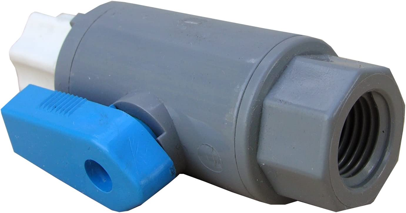 LASCO 19-5511 Straight Ball Valve Integ with 100% quality warranty Compression Max 67% OFF Fitting