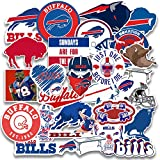 25 pcs Set of Buffalo Vinyl Bills Stickers Pack 2-3 inches