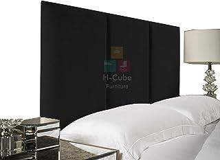 H-Cube meble Alton wyściełane łóżko Divan zagłówek szenila tkanina różne wysokości wiele kolorów seria 10 cm montowana na ...