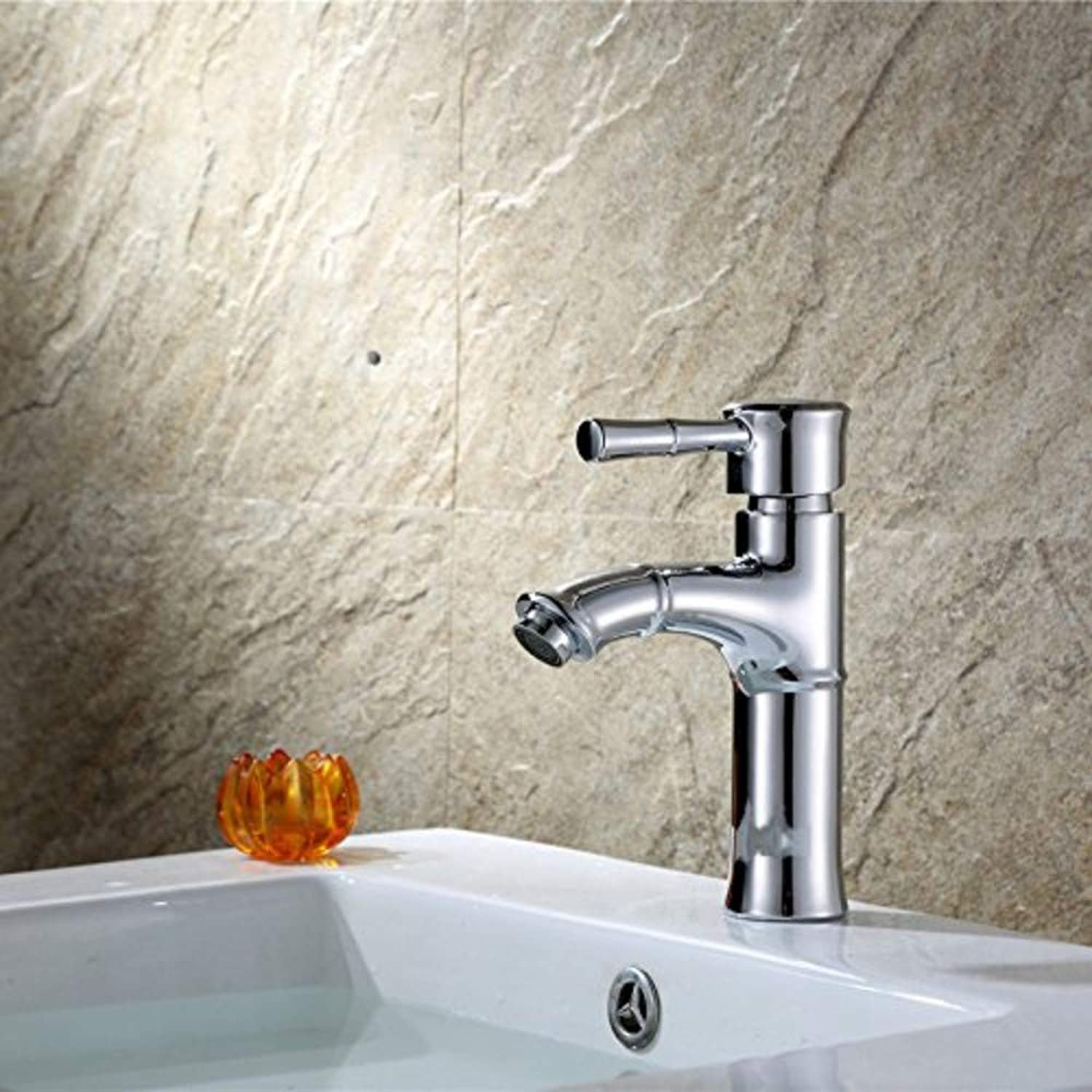 Water Tap Basin Hot and Cold Water Mixing Single Hole Modern Taps Kitchen Brass Faucet Bathroom Sink Waterfall Tap Mixer Water Washroom Bath Tub Shower