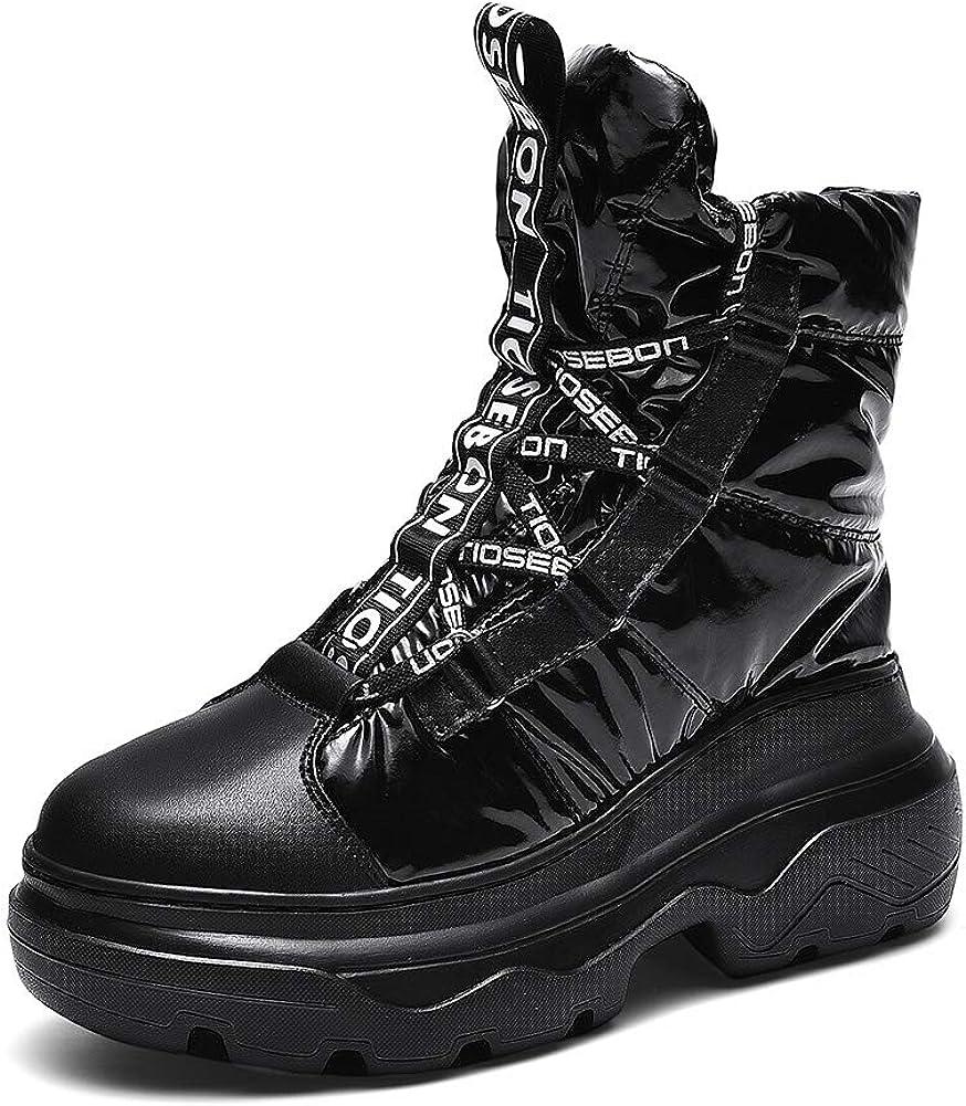 TIOSEBON Women's Lace-up Mid-Calf Snow Special sale item Waterproof F store Winter Boots