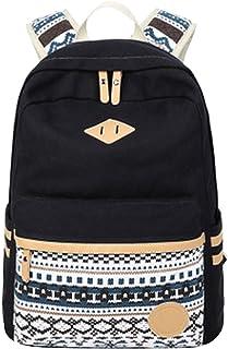 Mochilas Escolares Juveniles Mochila Escolar Juvenil Mochilas para Mujer Hombre Universitarias el Cole Mochilas Colegio para el Instituto Viajar Mochila Bolso Chicas Chico Backpack Niña Negro