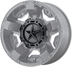 KMC XD Series Rockstar 3 827CAPMB-GB-1 T116L188 S1604-11 Matte Black Center Cap Gloss Black Star