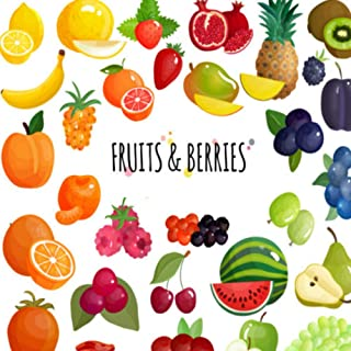 Fruits & BERRIES: first words flashcards