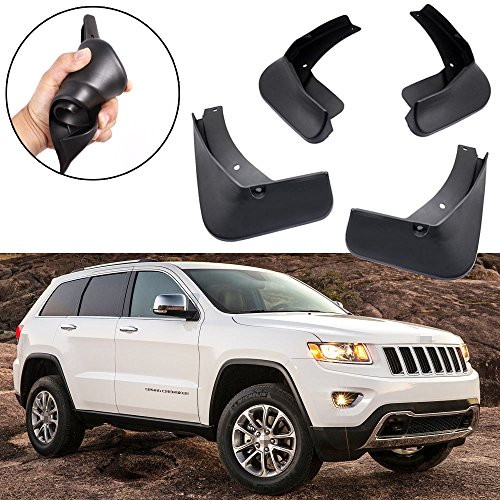 SPEEDLONG 4Pcs Car Mud Flaps Splash Guards Fender Mudguard Compatible with Jeep Grand Cherokee 2011-2020