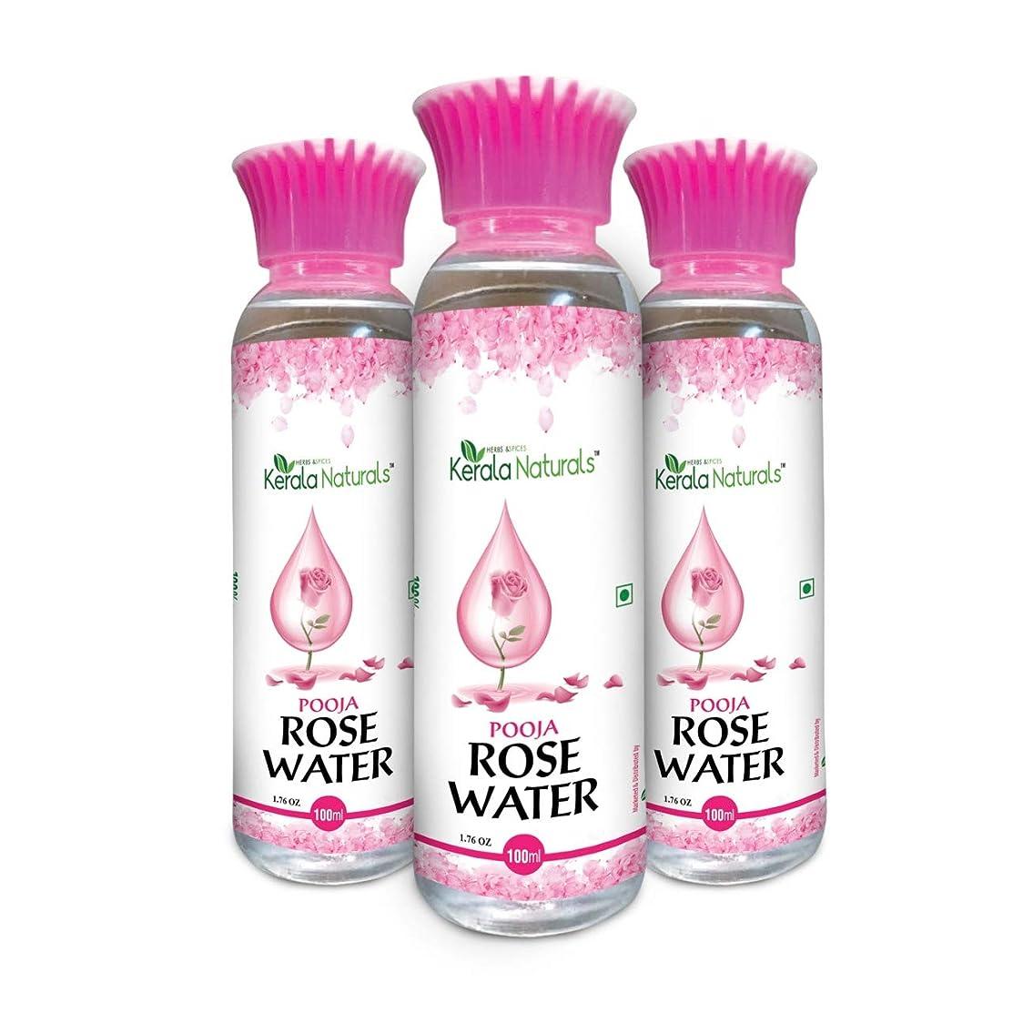 直径とらえどころのないガソリンPure Rose Water 300ml - Natural Toner, Recommended for acne and skin irritation - ピュアローズウォーター300ml-ナチュラルトナー、にきびや肌の炎症におすすめ