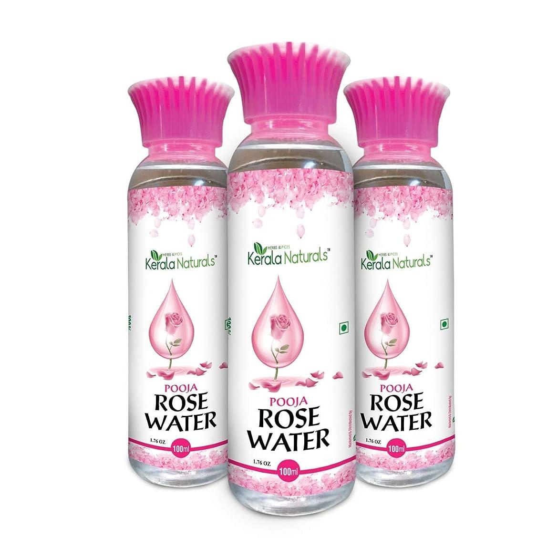 有望全体マッシュPure Rose Water 300ml - Natural Toner, Recommended for acne and skin irritation - ピュアローズウォーター300ml-ナチュラルトナー、にきびや肌の炎症におすすめ