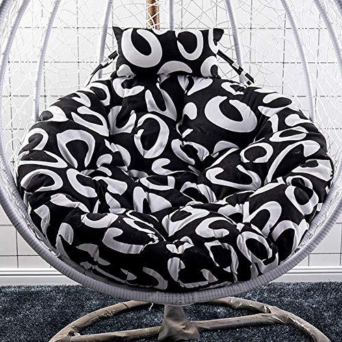 DOUP Hammock Chair Cushion, Multi-Color Swing Seat Cushion Cushion Thick Chair Hanging Chair by Pillow Cotton