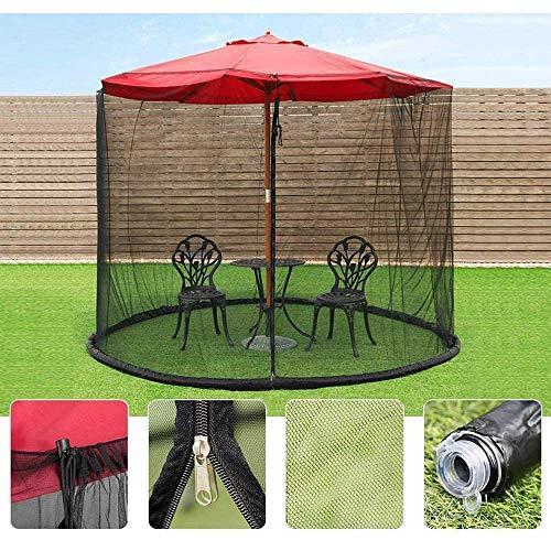 SWEET Moustiquaire extérieure, Couverture de Parapluie moustiquaire moustiquaire écran Parasol pour Jardin Camping en Plein air