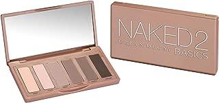 Naked 2 Basics Eyeshadow Palette: 6x Eyeshadow (Cover, Frisk, Primal, Skimp, Stark, Undone) from Urban Decay