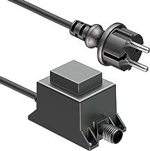 ledscom.de 20W LED transformator voeding voor IP44 connector systeem NEMO transformator 12V AC