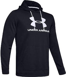 Under Armour mens Sportstyle Terry Logo Hoodie Hoodie