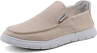 Halfword Mens Canvans Shoes Slip on Comfort Walking Espadrilles Shoes