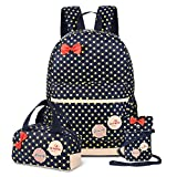 VBIGER School Bags School Backpack Girls Teenage Rucksack Waterproof for Primary Secondary and High School