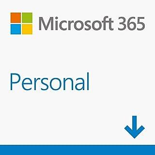 Microsoft 365 Personal   Software para 1 PC/MAC  1 tableta incluyendo iPad/Android/Windows, además de 1 teléfono