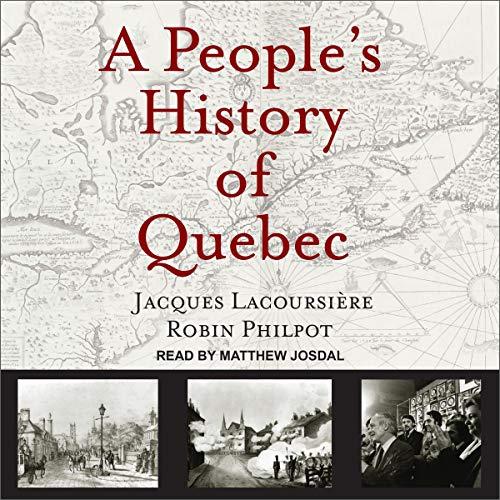 Page de couverture de A People's History of Quebec