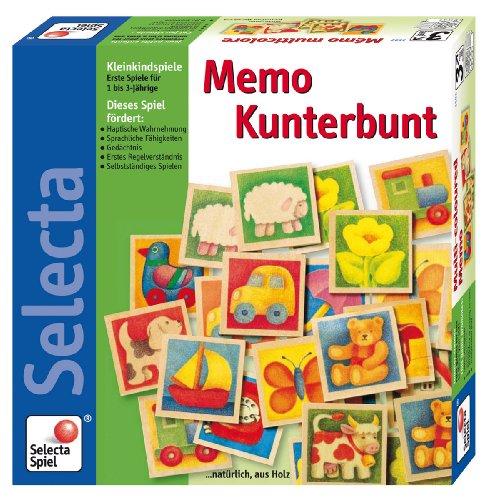 3582 - Selecta - Memo Kunterbunt - Wer findet die meisten Tier-Paare - Ein klassisches Memo-Spiel