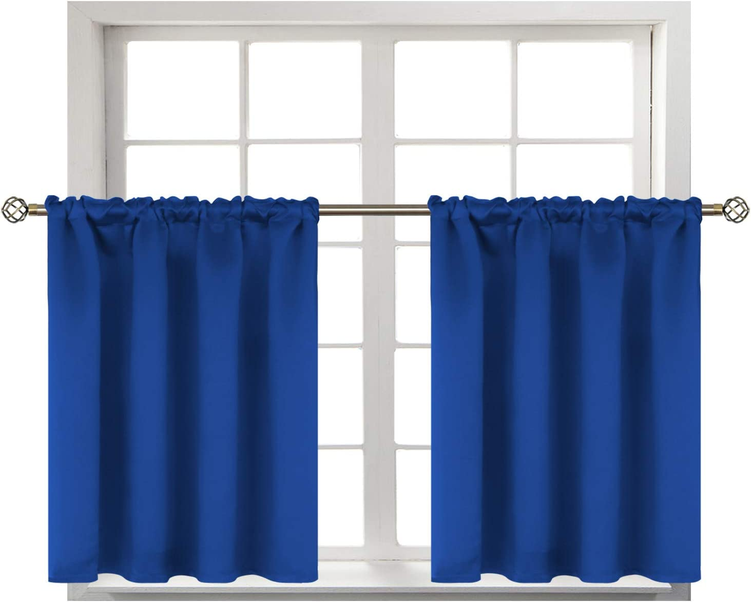 Special sale item BGment Small Window Room Darkening for Thermal Max 84% OFF Curtains Kitchen-
