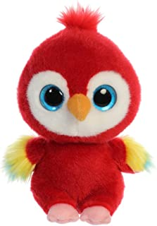 YooHoo Lora Scarlet Macaw 8in 61117 Red