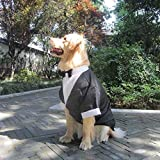 VISTANIA Große Hunde Hochzeit Anzug Kleidung, Große Hund Tuxedo Kostüme Formale Party-Outfits,...