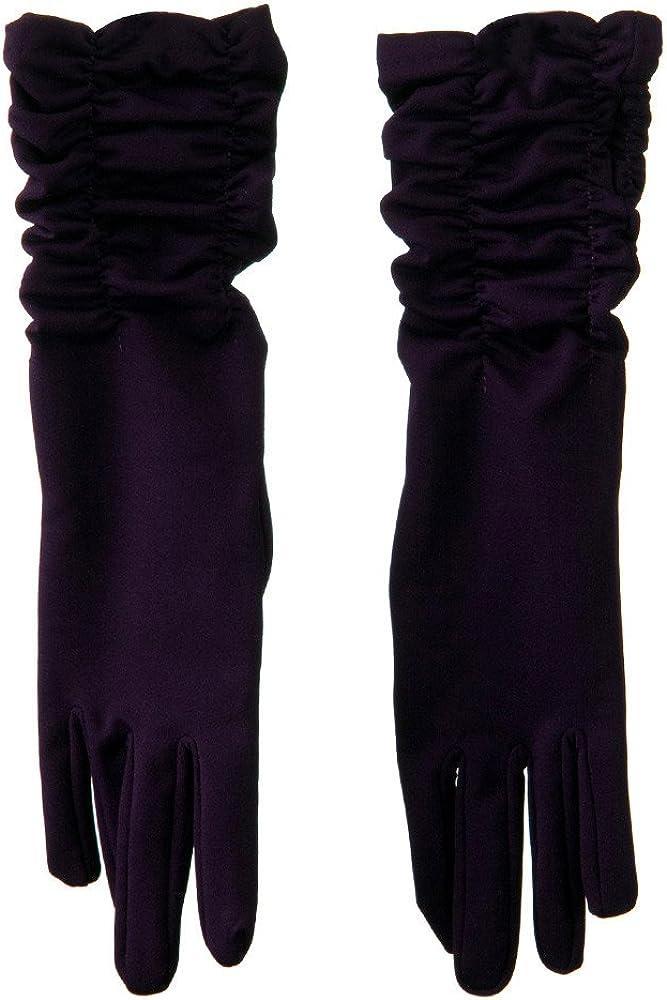 Mid Arm Length Shiny Glove - Purple W17S44E
