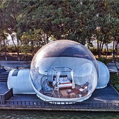 BNVN Aufblasbares Zelt im Freien transparent Sternenblasenhaus 4m